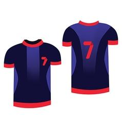 Soccer sportswear vector