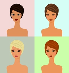 Four faces vector