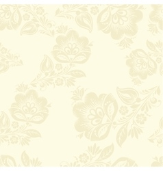 Romantic seamless floral pattern vector