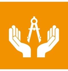 Civil engineering icon vector