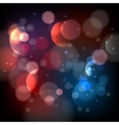 Defocused bokeh lights background vector image vector image