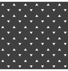 Stylish abstract seamless pattern with black vector image vector image