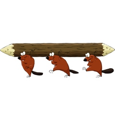 Beavers have a log vector