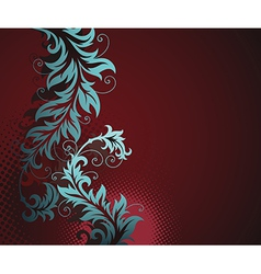 8floral line 17 1 vector image vector image