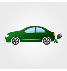 Eco car  eco auto vector