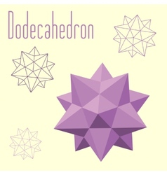 Dodecahedron-icosahedron compound figure for your vector