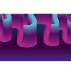 fluid shaped design vector image