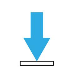 Download arrow business direction information vector