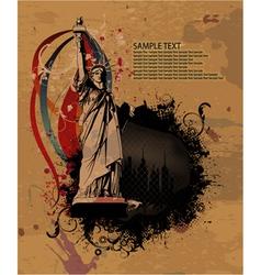 urban grunge background vector image