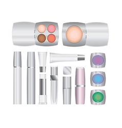 cosmetics set 2 2 vector image vector image