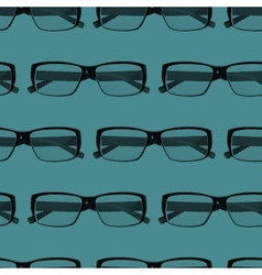 Seamless pattern with engraving eye glasses vector