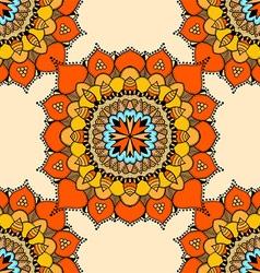Mandala Patterned Background vector image