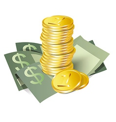 Money icon vector image