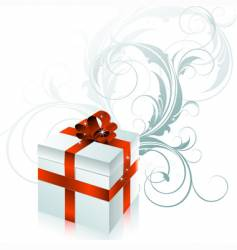 Gift holiday vector