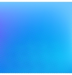 Halftone background Cyan blue and lilac color vector image