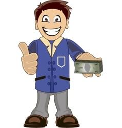 Bankeer vector image vector image