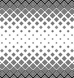 Black white seamless horizontal square pattern vector