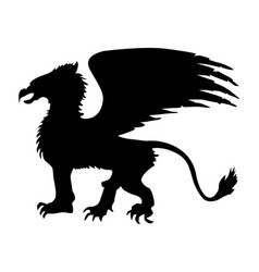 griffin vector image