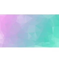 Polygonal geometric background Colors from vector image vector image