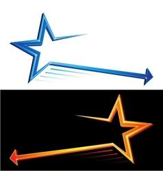 Star symbols vector image