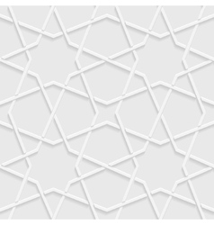 Abstract background light gray geometric shapes vector image
