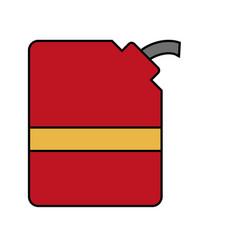 Oil gallon icon vector