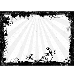 grunge background with rays vector image vector image