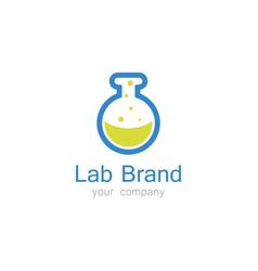 lab logo vector image