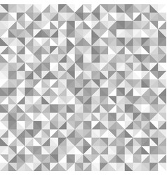 silver right triangle pattern seamless background vector image