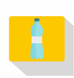 Bottle of water icon flat style vector