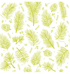 Seamless background tree vector