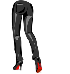Sexy pants vector