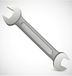 Photorealistic hand wrench tool vector