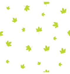 Leafs - seamless pattern vector