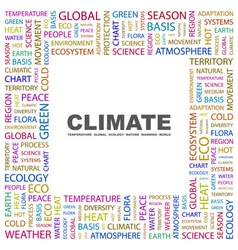 Climate vector