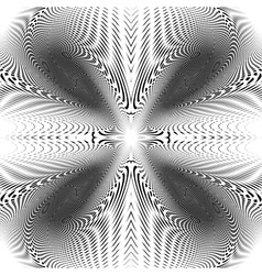 Design uncolored trellis interlaced background vector