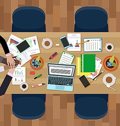 Teamwork in business vector image vector image