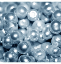 Blue pearls texture vector