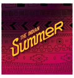 Indian summer season vector