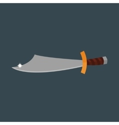 Knife weapon vector image vector image