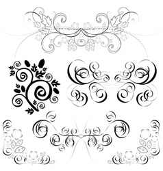 ornate patterns vector image vector image