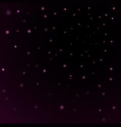 light stars on black background vector image