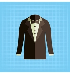 Elegant suit design vector