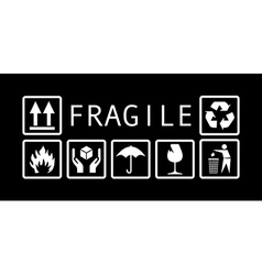 fragileSymbolsXX vector image