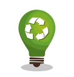 Eco green environmental poster vector