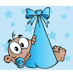 Cartoon baby vector