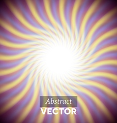 Abstract purple wavy rays vector image