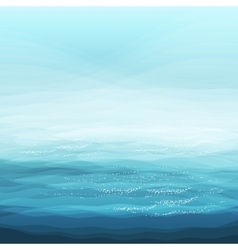 Abstract design creativity background of blue sea vector