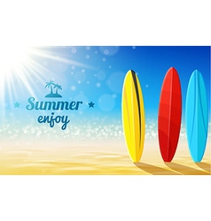 Beach sunny background- design vector