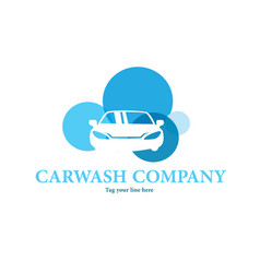 Car wash logo vector